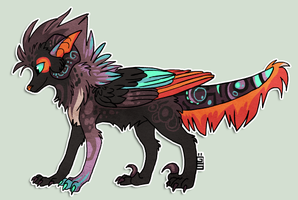 Design for Little-Owlet by griffsnuff