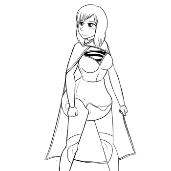 Supergirl by TheOwlcan