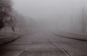 Foggy Road by BlackHive