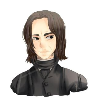 Severus snape by book-sage
