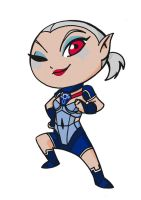 Impa Wind Waker Style by CoconCrash