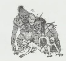 Orc Family by Illvetti