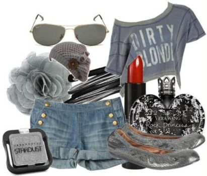 Grey Theme - From My Polyvore by LuxrayAndAllTimeLow