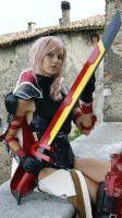 Lightning Cosplay by MadnessGottaBody