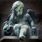 Mourning Cherub by margatt