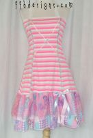 My Little Pony dress by funkyfunnybone