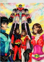 Grendizer by SPITEREDESCENT