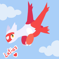 Latias by DarkMatterXD