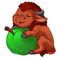 Apple Bison by sixelona