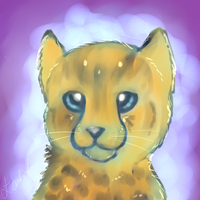 Cheetah Cub Thing by bubblymaika