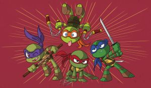 Little Old Turtles by Sibsy