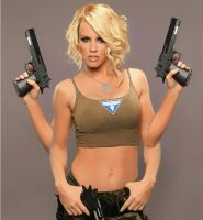Jenny McCarthy Armed Arms by Monster1919