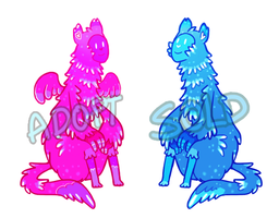 Fluffy Monsters Adoptables-Paypal {OPEN} by HikkiAdopts