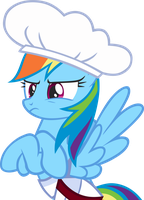 Rainbow Dash is not amused by greseres