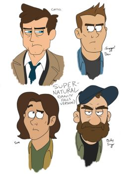 Supernatural (Gravity Falls Edition!) by xiam47