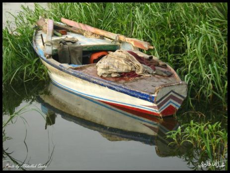 Egyptian Boat by 3bdullah