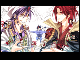 Magi: Great Kings by YummySuika