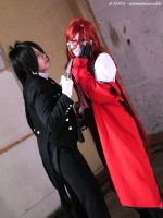 Sebastian and Grell by viennidemizerable
