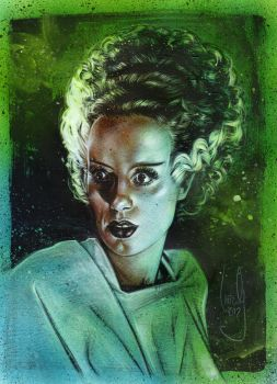 Bride Of Frankenstein 2 by JeffLafferty