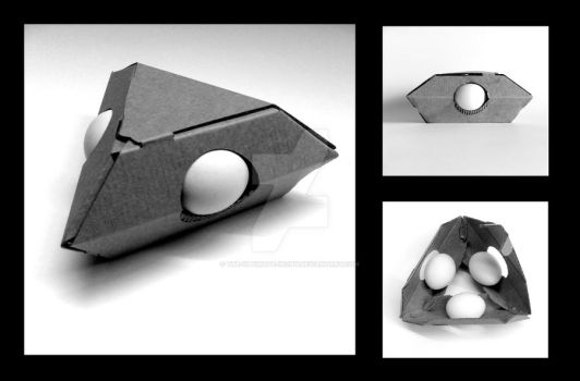 How to wrap three eggs by the-ultimate-irony