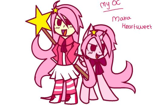 My Oc!! by MakaHeartsweets