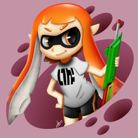 Splatoon - Inkling Girl ~ by AlexTHF