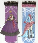 more Dress Bookmarks by xXSiliciaXx