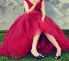 Il Vestito Rosso by patchoulipatch