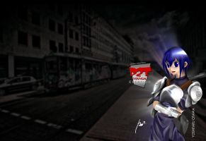 my customized BG in friendster by p2tedited