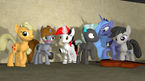gmod - Best ponies by Stormbadger