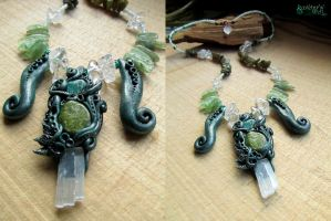 Yavanna necklace by SuvetarsWell