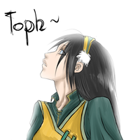 Toph sketch by drathe