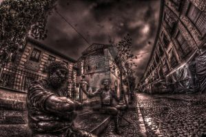 City made of bronze by Astaroth667