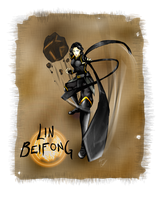 Lin Beifong by ZombieOwl