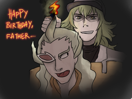 Happy Birthday Father... by Wasserbienchen