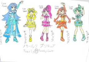 Pearly Pretty Cure! by seasidelover18