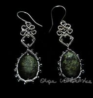 Spring earrings 1 by OlgaC