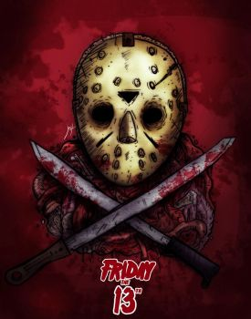 Friday the 13th by jff-art