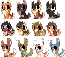 25 point Adopts by SilverGully