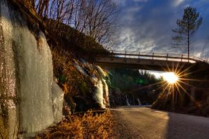 Winter sun in HDR by PhotoForever88