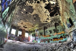 Abandoned Brewery -former hall- by Beschty
