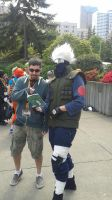 Kakashi Sensei Readin' Something Pervy! by NARUFRO93
