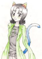 Nepeta Colored by Cocodragon8