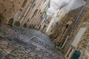 street5 in the old Le Mans Sarthe France by hubert61