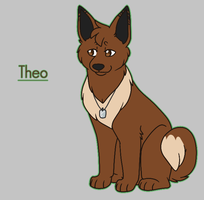 Theo the Eevee by Tinnypants