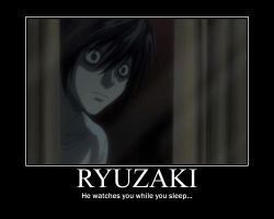 Ryuzaki poster- Death Note by Clive4everLegal