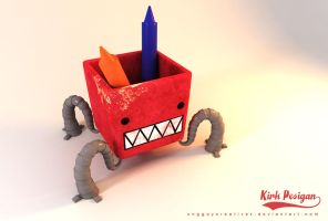 pencil holder by unggoycreatives