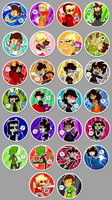 homestuck buttons v2 by Nifty-senpai