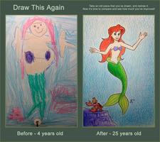 Draw This Again: The Little Mermaid - Redemption by JMKohrs