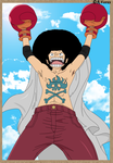 Afro Luffy by Vero-Light